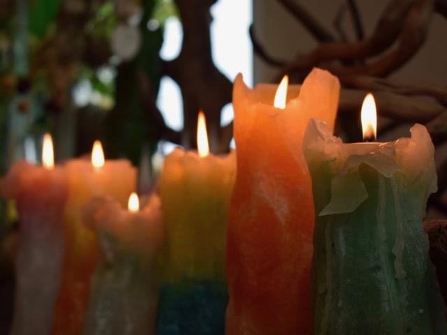 Candle Atelier Orange
